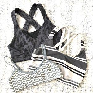 SET OF 3 Bras Lululemon PINK Victoria's Secret 4